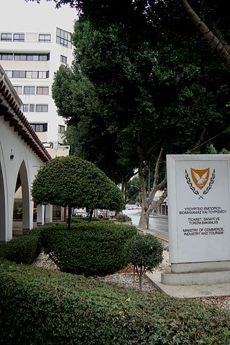 Politics of Cyprus - Ministry of Commerce Industry and Tourism