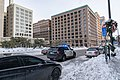 Minneapolis Police Squad Car Outside City Hall (46210994085).jpg