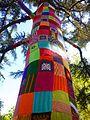 Miranda de Ebro - Yarn bombing en el Parque Antonio Machado 06.jpg