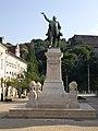 Miskolc, Lajos Kossuth by József Róna, socha.jpg