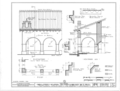 Mission San Fernando Rey de Espana, Monastery, San Fernando Mission Road, San Fernando, Los Angeles County, CA HABS CAL,19-SANF,2A- (sheet 3 of 7).png