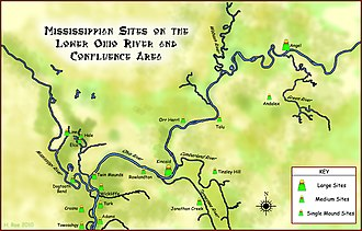 Wickliffe Mounds - Mississippian sites on the Lower Ohio River