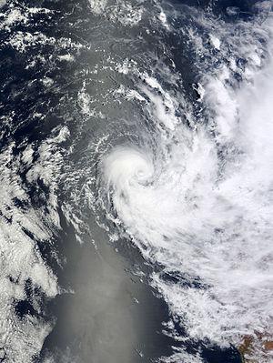 2012–13 Australian region cyclone season - Image: Mitchell Dec 29 2012 0310Z