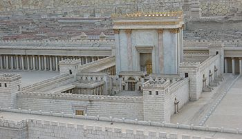 Model of Jerusalem in the Late Second Temple Period.JPG