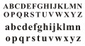 Modern basic Latin alphabet sample.svg