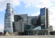 Moderne wolkenkrabber Warschau 0875