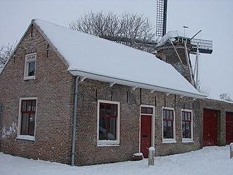 Terneuzen - Historical house (national site) in Terneuzen