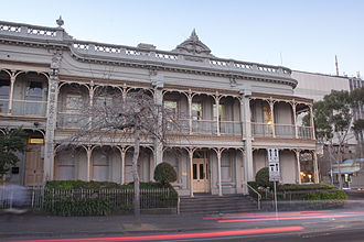 Bionics Institute - Front of the Bionic Institute's Mollison House.