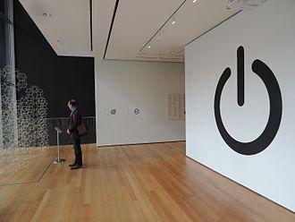 Power symbol - Power symbol as exhibit item at MoMA