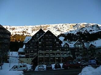 Oz, Isère - The ski station of Oz