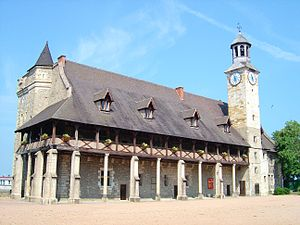 The Dukes of the Bourbon castle in Montluçon - Montluçon castle