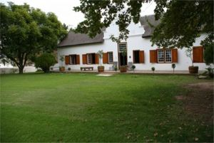Tulbagh - The historic vineyard Montpellier near Tulbagh