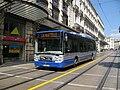 Montpellier TaM Irisbus Citelis 12 n°174 L7 Rue Maguelone (2).JPG