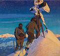 Morgengebet der Kalser Bergführer auf dem Großglockner.jpg