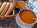 Moroccan food and drink - soup and beans (5368121534).jpg