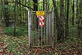 Moscow, caged gas pipeline valve in Losiny Ostrov forest (31556365132).jpg
