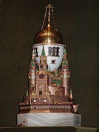 Moscow Kremlin (Fabergé egg)