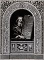 Moses, with his rod and the table of the ten commandments; w Wellcome V0034277.jpg