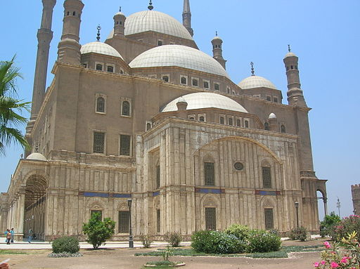 Mosque of Muhammad Ali Pasha or Alabaster Mosque - Cairo, Egypt - July 2008