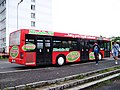 Most, Rudolická, autobus DPmML - MAN Hitrádio.jpg