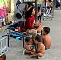 Mother and children Cambodia border.jpg