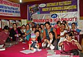 Mothers and babies at Healthy Baby competition, organized by the DFP, at the Public Information Campaign on Bharat Nirman, at Ranka, Sikkim on April 30, 2011.jpg