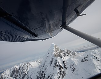 Mount Huntington (Alaska) - Image: Mount Huntington