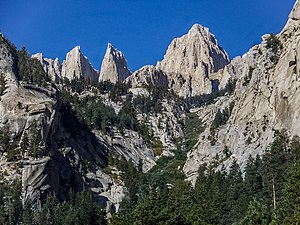 Mount Whitney - Inyo National Forest