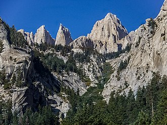 Sierra Nevada (U.S.) - Mount Whitney, the highest peak in the range and the contiguous United States