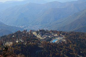 Mountain Olympic Village at the Psekhako.jpg