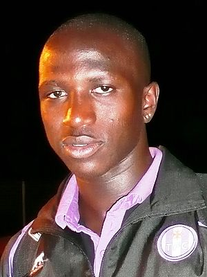 Moussa Sissoko - Sissoko in Toulouse FC colours, 2008