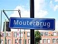Mouterbrug - Delfshaven - Rotterdam - Name sign (road).jpg