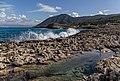 Moutti Tis Sotiras from Manolis Bay, Akamas Peninsula, Cyprus.jpg