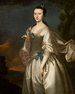 Mrs Robert Rogers (Elizabeth Browne) 1761 by Joseph Blackburn