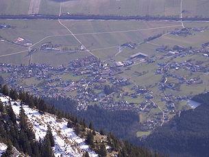 Munster from the Vorderen Sonnwendjoch