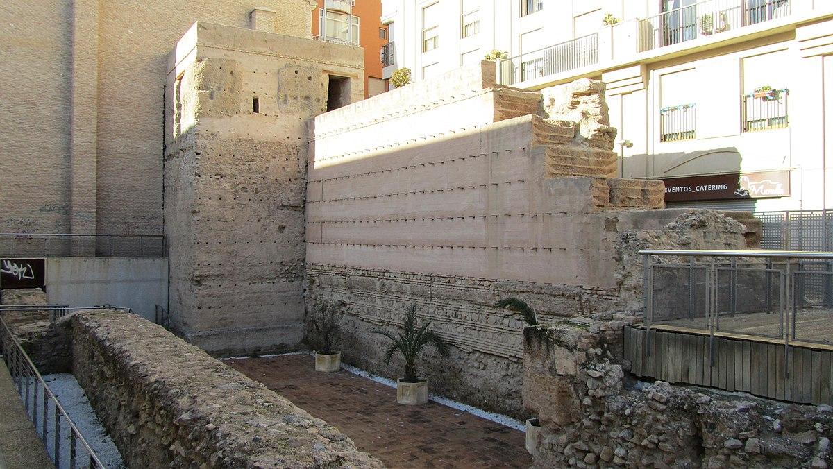 Muralla rabe de murcia wikipedia la enciclopedia libre - Materiales de construccion en murcia ...