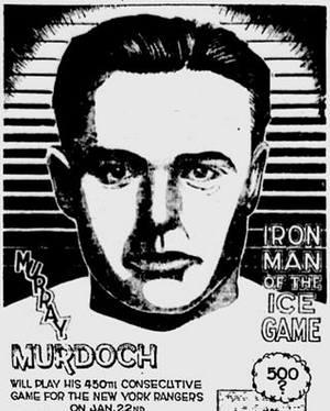Murray Murdoch - Murdoch in a 1935 newspaper