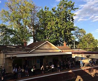 Murrumbeena, Victoria - Image: Murrumbeena historic station 2016