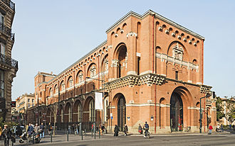 Musée des Augustins - The Musée des Augustins de Toulouse seen from Rue d'Alsace Lorraine