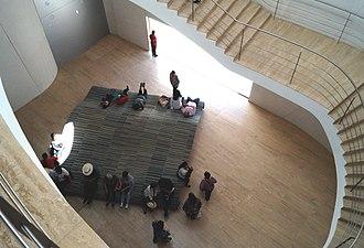 International Museum of the Baroque - Image: Museo Internacional Barroco (Puebla, México) Escaleras