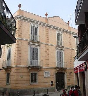 Can Llopis Romanticism Museum - Can Llopis façade