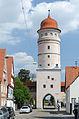 Nördlingen, Stadtbefestigung, Deininger Tor, Stadtseite, 003.jpg