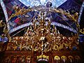 Nürnberg Rumänisch-orthodoxe Metropolitankathedrale Innen Leuchter.JPG