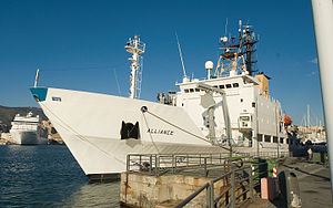Italian ship Alliance (A5345) - Image: NATO Research vessel Alliance