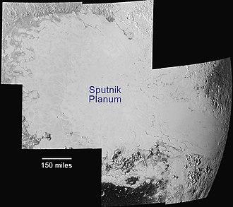 Sputnik Planitia - Image: NH Pluto Sputnik Planum 20150714