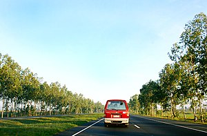 Limited-access road - The North Luzon Expressway, Philippines