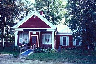 Norridgewock, Maine - Old Norridgewock Library
