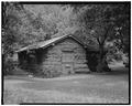 NORTH FRONT AND EAST SIDE; VIEW TO SOUTHWEST - Zion National Park, Zion Museum, Springdale, Washington County, UT HABS UTAH,27-SPDA.V,7D-1.tif
