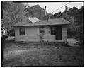 NORTH REAR; VIEW TO SOUTH - Oak Creek Historic Complex, Ranger's House, Springdale, Washington County, UT HABS UTAH,27-SPDA.V,4E-2.tif