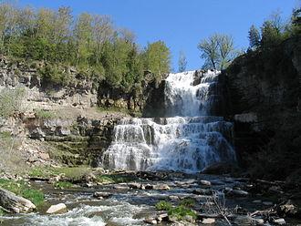 Onondaga Limestone - Chittenango Falls